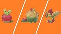 Pokémon Schwert & Schild: So könnt ihr Knapfel zu Schlapfel/Drapfel entwickeln