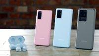 Samsung Galaxy S20 (Plus/Ultra): Farben der Smartphones im Überblick
