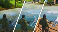 Fortnite: Fang einen Fisch bei Lake Canoe, Lazy Lake und Zapplerteich