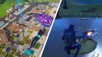 Fortnite: Hüpfe in drei Matches auf Objekten mit Sprungflächen