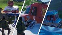 Fortnite: Imbisswagen besuchen - Fundorte auf der Karte