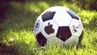 Museumsreife Apple-Technik: Fußballstar pfeift vorm Spiel auf iPhone und AirPods