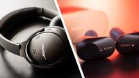 Bose QuietComfort 35 II oder Sony WF-1000XM3: Welcher Kopfhörer ist besser im Alltag?