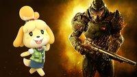 Internet beschließt: Doomguy & Animal Crossing's Isabelle sind beste Freunde