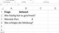 Excel: Text abschneiden und den Textüberlauf verhindern – so geht's