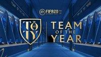 FIFA 20: TOTY - Team of the Year - Gewinner und Nominierte
