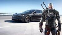 The Witcher in Tesla-Autos spielen? Bald vielleicht möglich
