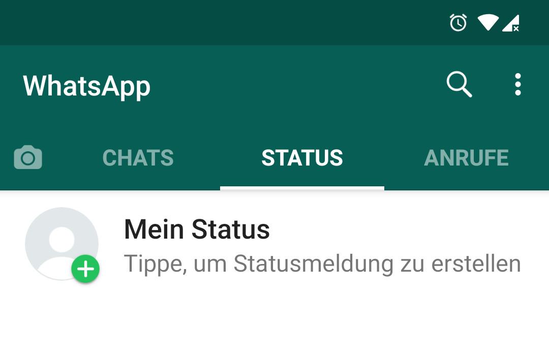 Lösung Whatsapp Status Funktioniert Nicht Iphoneandroid