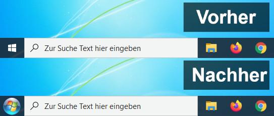 Windows 10 Wie Windows 7 Aussehen Lassen
