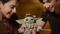 Holt euch Baby Yoda als niedliche Puppe, die mit euch spricht