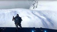 Death Stranding-Spieler uriniert 15 Stunden seinen Namen in den Schnee