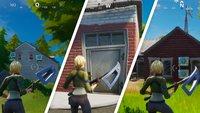 Fortnite: Fundorte aller Shadow-Unterschlüpfe
