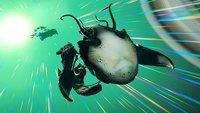 No Man's Sky – Living Ship-Update: Lebendes Schiff und Leere-Ei finden – Sternengeburt anfangen