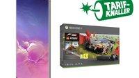 Tarif-Knaller: Samsung Galaxy S10 + Xbox One X + Spiel + 6 GB Daten im Telekom-Netz für unter 30 Euro/Monat