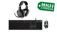 Bundle für PC-Gamer: Headset, Maus und Tastatur von Logitech zum Knallerpreis