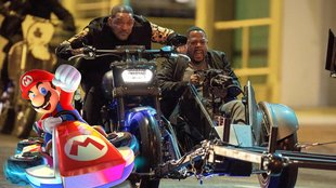 Will Smith macht Super Mario Konkurrenz: Fan verwandelt Bad-Boys in Mario Kart
