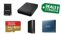 Saturn Speicher-Knaller: Externe Festplatten, Speicherkarte, SSDs & mehr im Angebots-Check – Deal des Tages