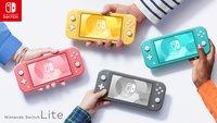 Nintendo Switch Lite: Die Konsole bekommt einen neuen Anstrich spendiert