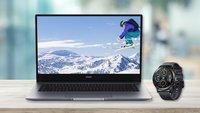 Gerüstet fürs Home Office: Guter Laptop + Smartwatch im Angebot für 600 Euro