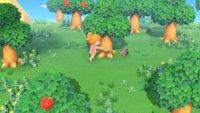 Animal Crossing - New Horizons: Bäume ausgraben und fällen
