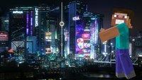 Minecraft: Spieler baut detailreiche Cyberpunk 2077-Stadt nach
