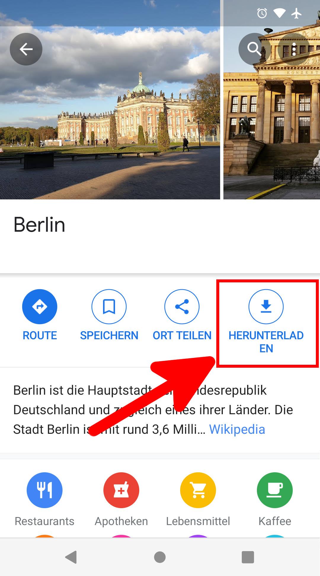 Google Maps Offline Nutzen So Geht S
