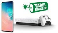 Samsung Galaxy S10 + Xbox One X Limited Edition + 6 GB Telekom-LTE für unter 30 Euro/Monat