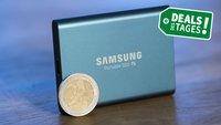 Externe SSD: Samsung T5 mit 500 GB aktuell für 88 Euro