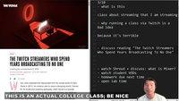 Twitch: Wegen Corona hält Professor Kurs über Twitch auf Twitch