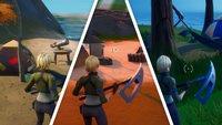 Fortnite: Besucht Skyes Küsten-Campingplätze - Fundorte