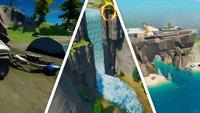 Fortnite: Besucht The Shark, Rapid's Rest und Gorgeous Gorge