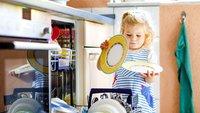 Spülmaschine entkalken – so geht es kinderleicht