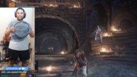 Dark Souls 3 mit dem Ring Fit Adventure Controller – ein echter Fitnessstudio-Ersatz