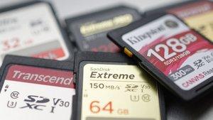 Test: SD-Karten im Geschwindigkeitsvergleich – mit SanDisk, Kingston und Transcend