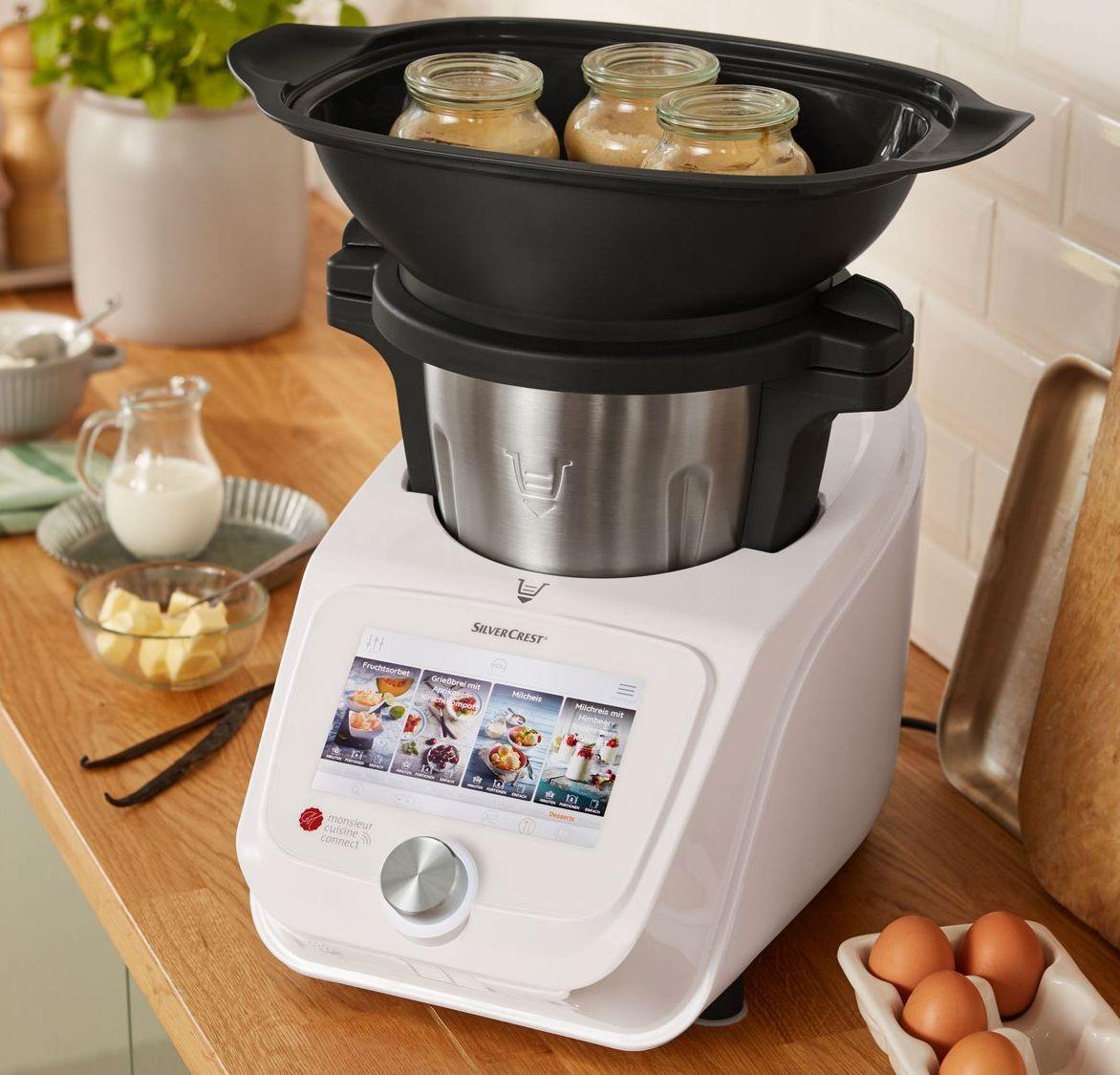 Silvercrest® Küchenmaschine Monsieur Cuisine Connect Skmc 1200