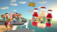 Animal Crossing: Deutsches Unternehmen produziert knuffige Fruchtgetränke