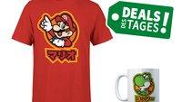 Paket für Nintendo-Fans: Tasse + T-Shirt mit Mario, Yoshi & Co für 10 Euro – Deal des Tages