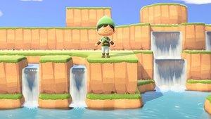 Spieler baut Zelda: A Link to the Past-Karte in Animal Crossing nach