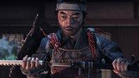 PS4: So viel Platz wird Ghost of Tsushima auf eurer Festplatte brauchen