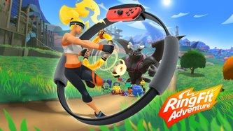 Ring Fit Adventure im Test: So viel Spaß macht Training selten
