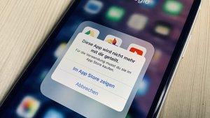 iPhone-Ärgernis: Manche Apps lassen sich plötzlich nicht mehr öffnen