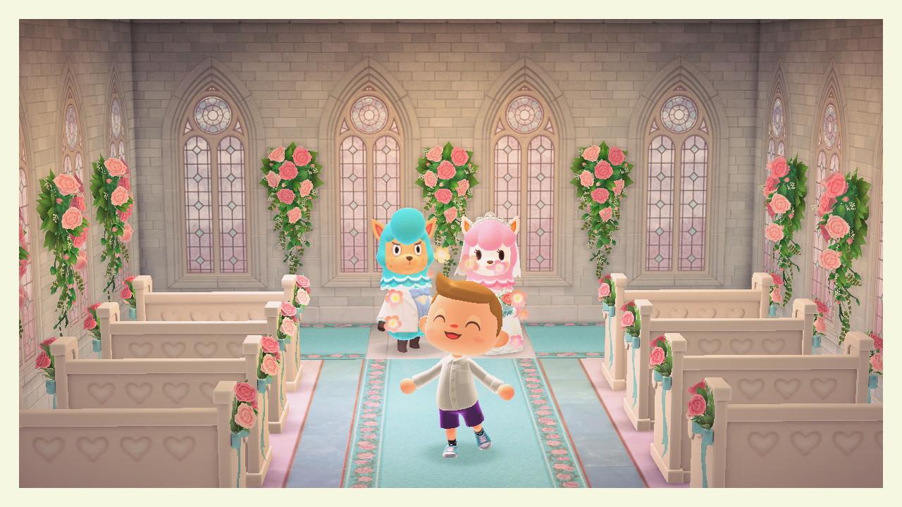 Animal Crossing New Horizons Hochzeitsereignis Wie Man Mehr Herzkristalle Bekommt
