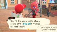 Animal Crossing - New Horizons: Insektikus-Turnier - Zeiten, Regeln und Belohnungen