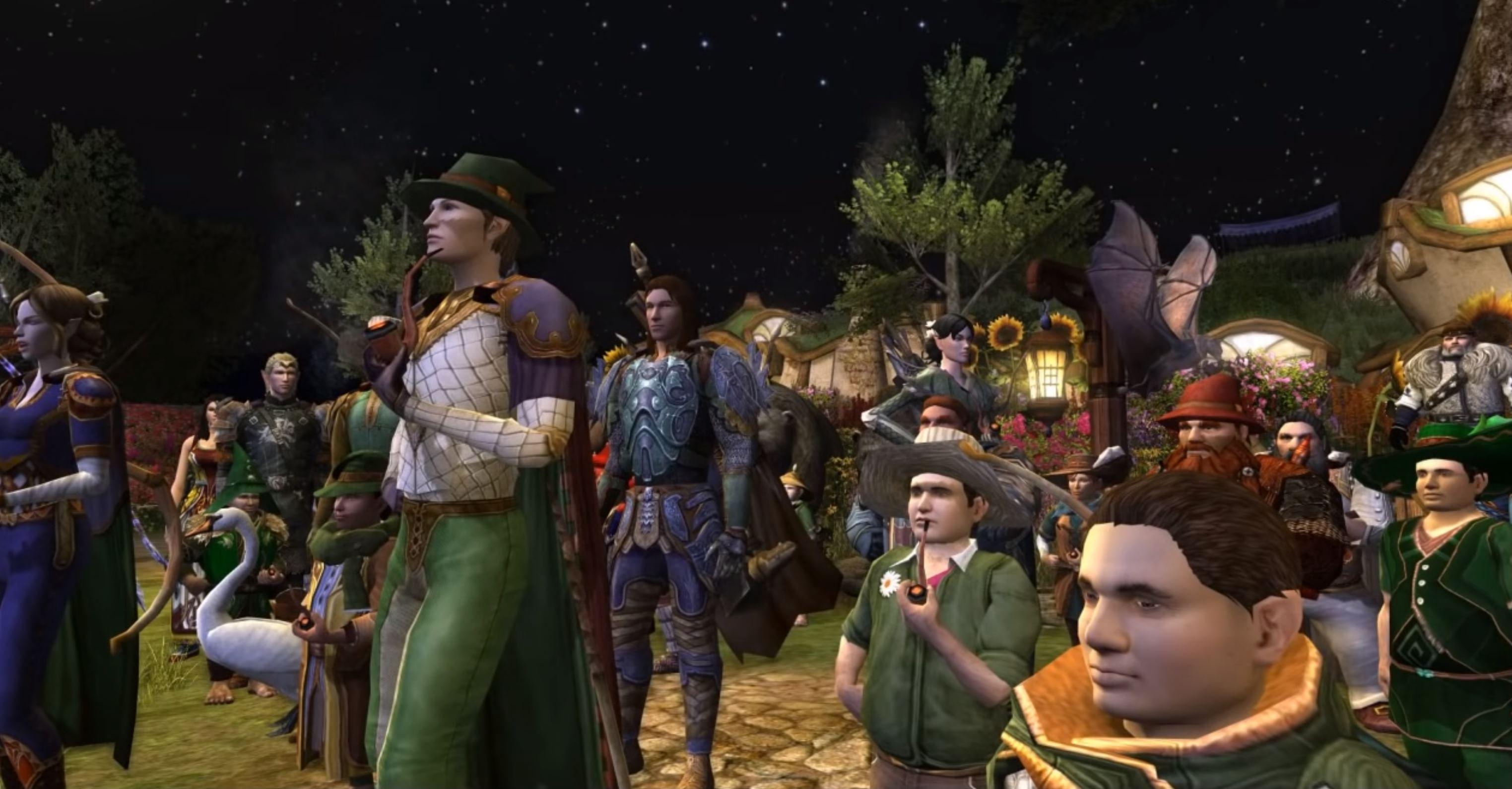 Der Herr Der Ringe Online Spieler Trauern Gemeinsam Um Bilbo Schauspieler