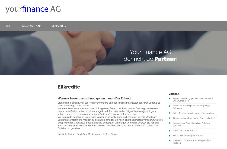Yourfinance Ag Seriös