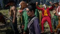 Clowns gegen Rockstar: Red Dead Online-Spieler wehren sich