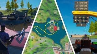 Fortnite: Motorboat Mayham - Fundort