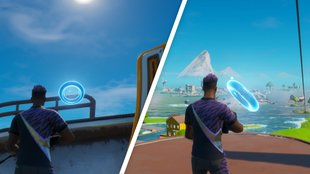 Fortnite: Ringe in der Luft bei Pleasant Park - alle Fundorte