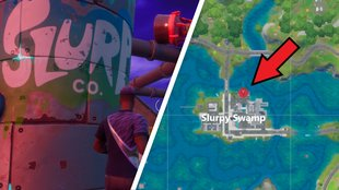Fortnite: SLURP bei Slurpy Swamp - Fundort