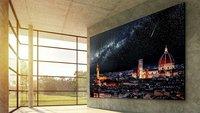 Monster-TV von LG: Neuer Fernseher sprengt alle Grenzen